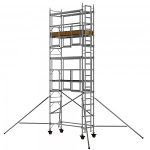 1.8m Single Width 7.7m Working Height AGR Scaffold Tower Weekly Hire
