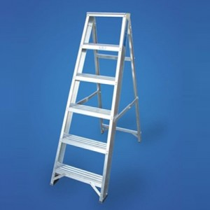 Aluminium Step Ladders - 8 Tread