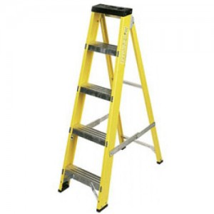 Fibreglass Step Ladders - 6 Tread