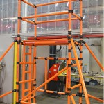 GRP Folding Tower - 4.2m