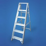 Aluminium Step Ladders - 6 Tread