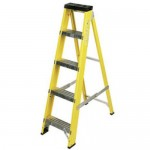 Fibreglass Step Ladders - 12 Tread