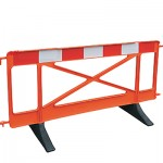 Pedestrian Barrier x 10 Panels